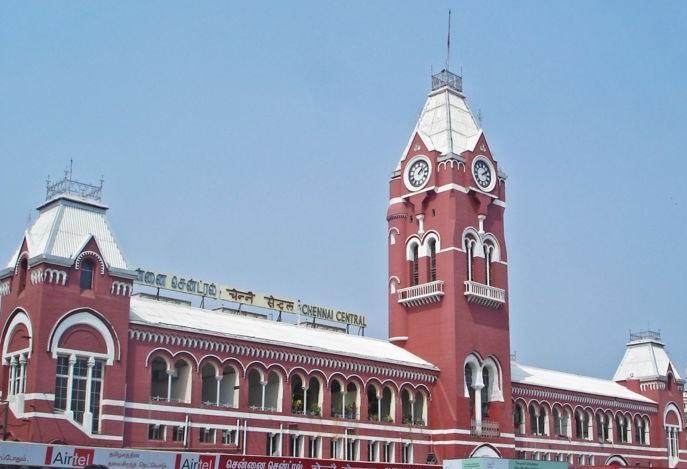 Chennai estacion de tren