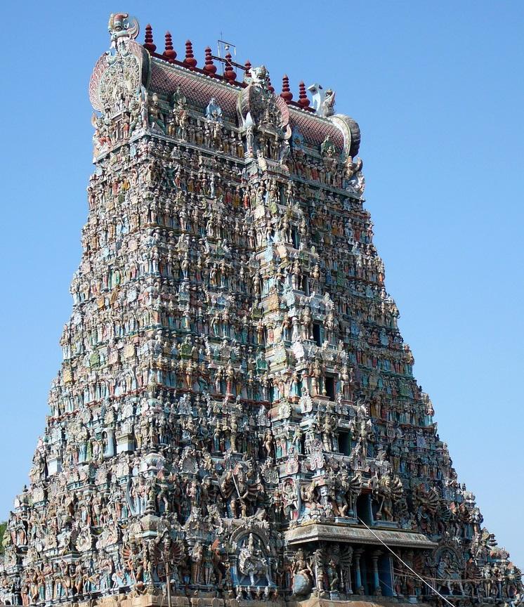 Gopuram templo Meenakshi Madurai
