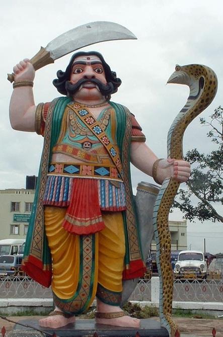 Imagen de Mahisasura templo chamundi Mysore