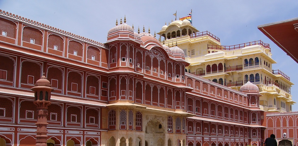 La ciudad palacio Jaipur