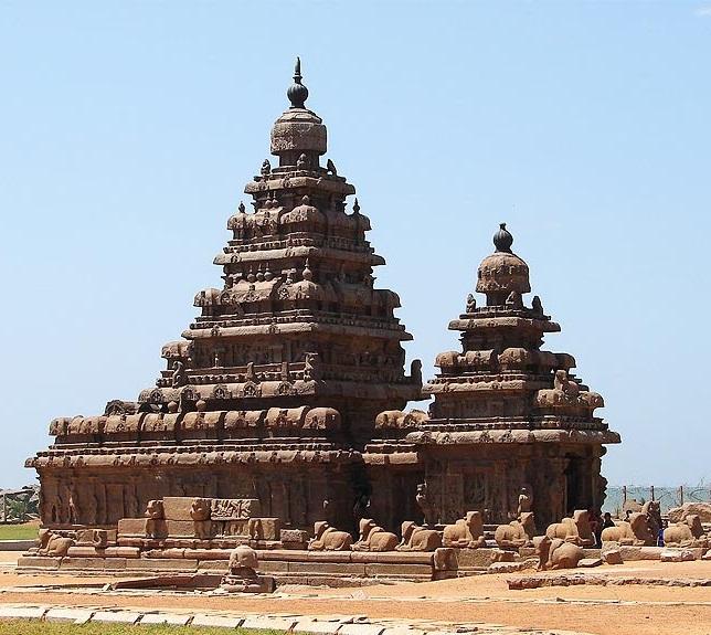 Templo de playa Mahabalipuram