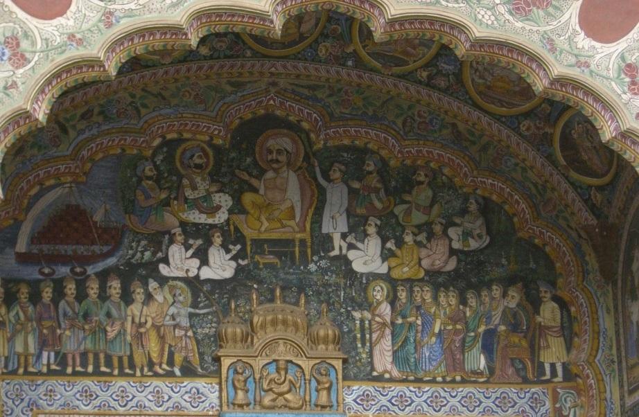 Mansiones pintadas en Mandawa