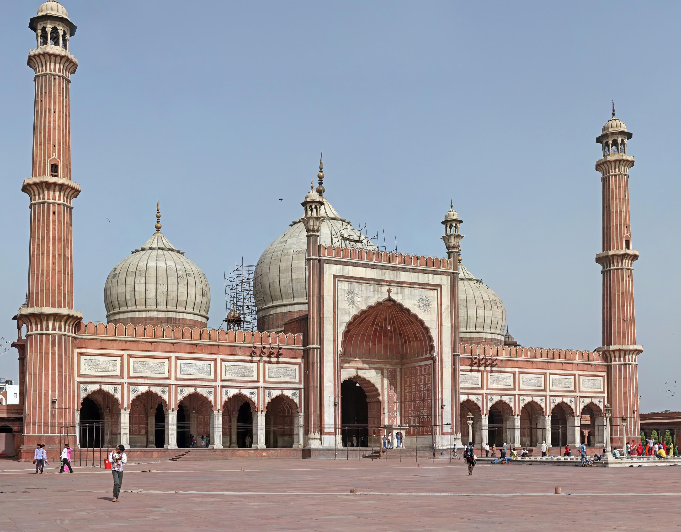 Mezquita Jami Delhi