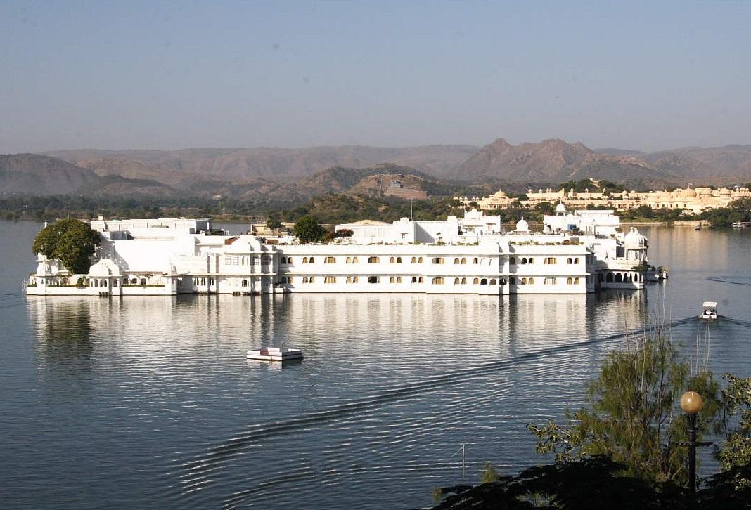 Palacio de lago Udaipur