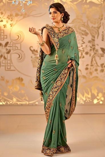 La Vestimenta Tradicional De La India Vestido India Sari