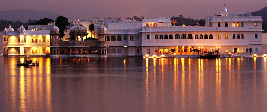 Palacio del lago Udaipur