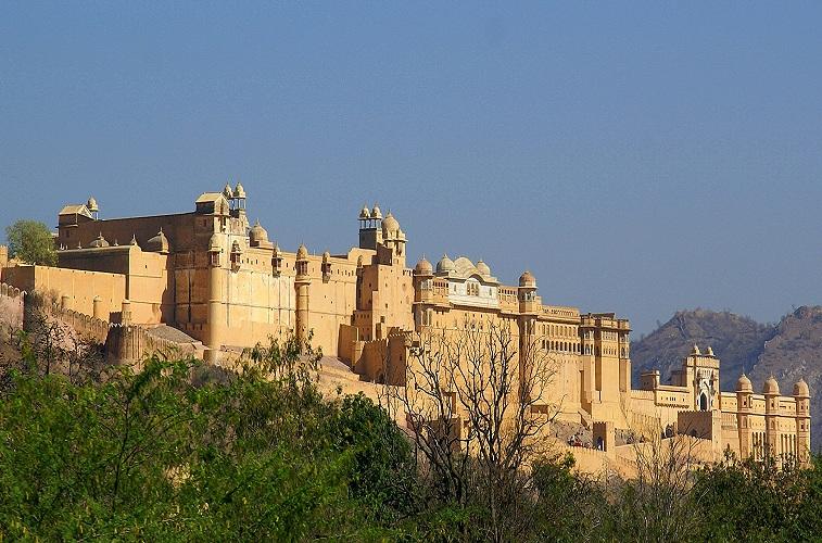Palacio de Amer Jaipur Rajasthan