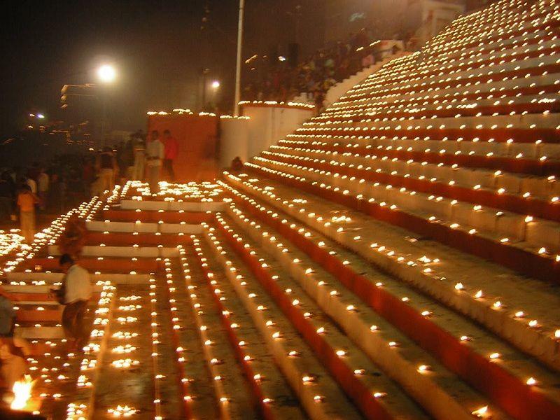 Diwali Benares