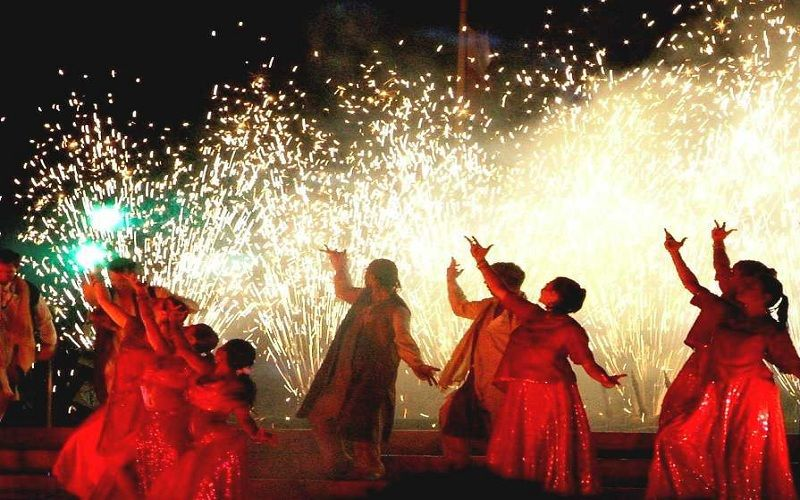 Diwali Celebracion en la India