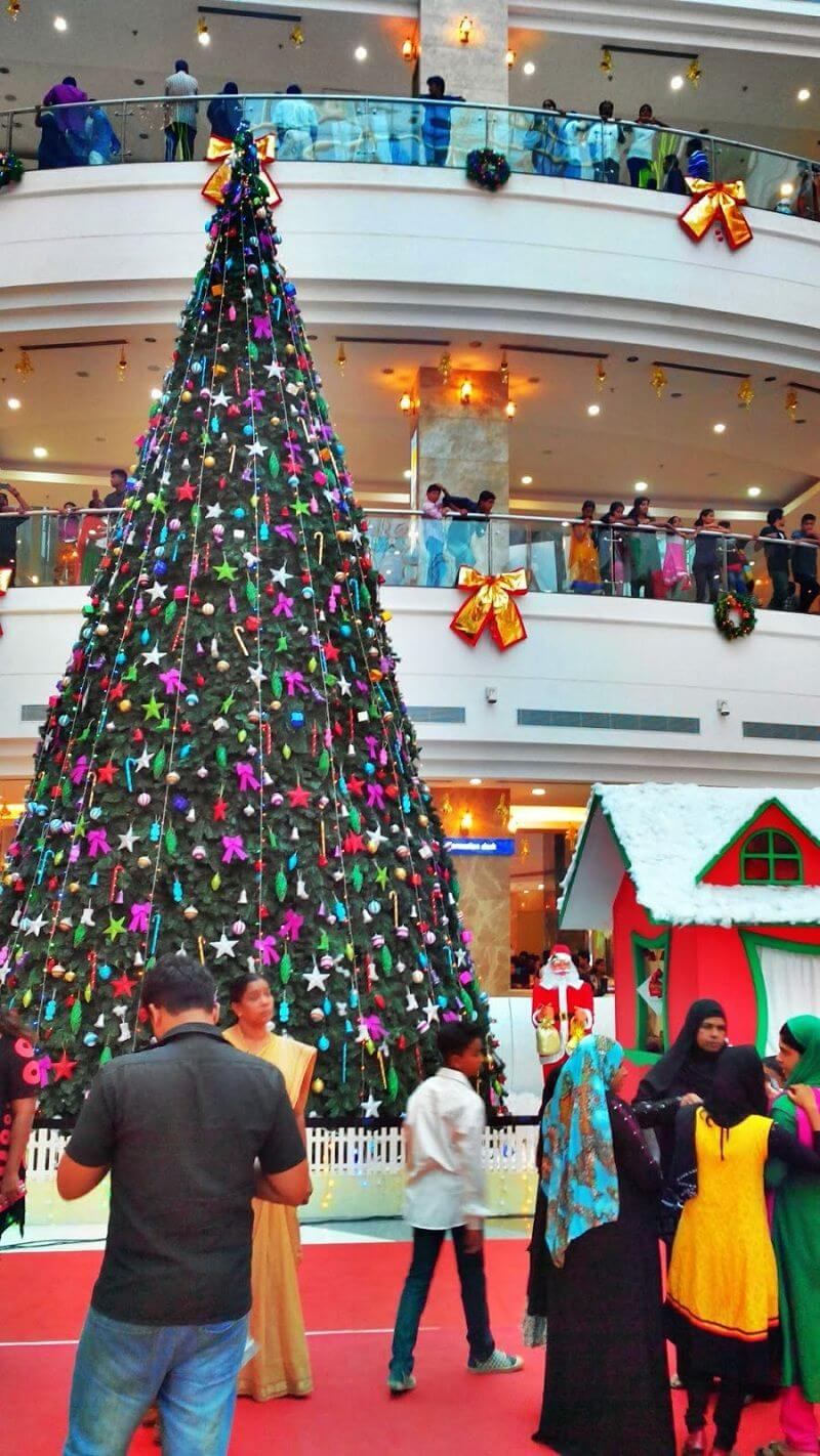 Celebracion de navidad en Kerala