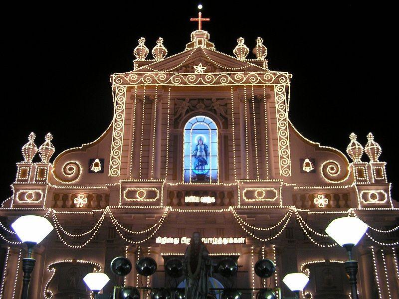 Navidad en Pondicherry
