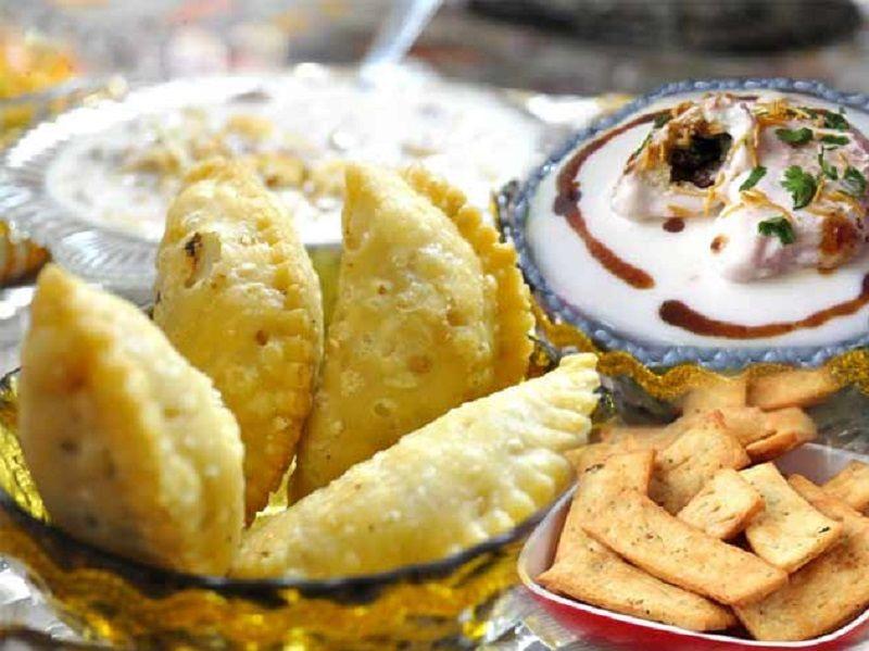Comida en Holi