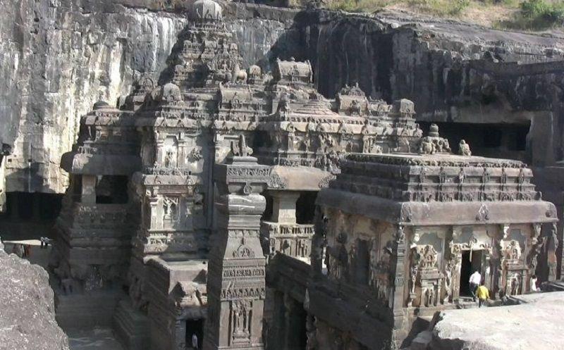 Monolitico Kailasha Templo